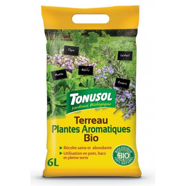 TERREAU PLANTES AROMATIQUES 6L