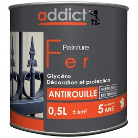 PEINT AD SPECIALE FER GRIS ANTRACITHE 0.5L