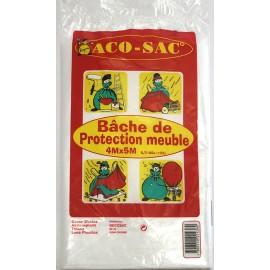 BACHE TRANSPARENTE FINE 4X5M