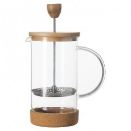 CAFETIERE PISTON BAMBOU NATURE 60CL / 4 TASSES