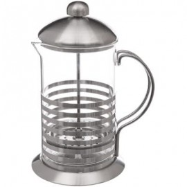 CAFETIERE PISTON SUPPORT METAL  80CL / 6 TASSES